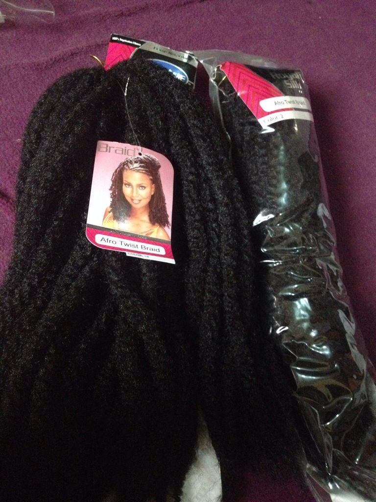 Diy Crochet Extensions With Kinky Hair