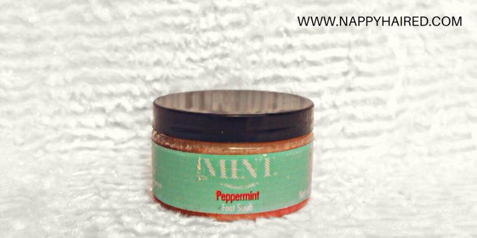 Mint Organic Care Peppermint Scrub