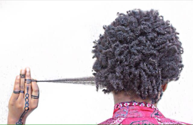 Shrinkage on 4C natural hair