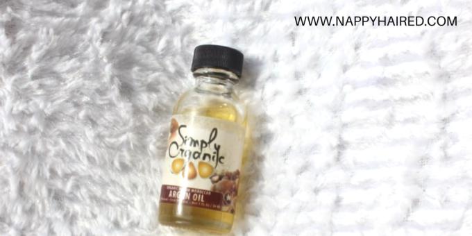Simply Organic Argan Oil