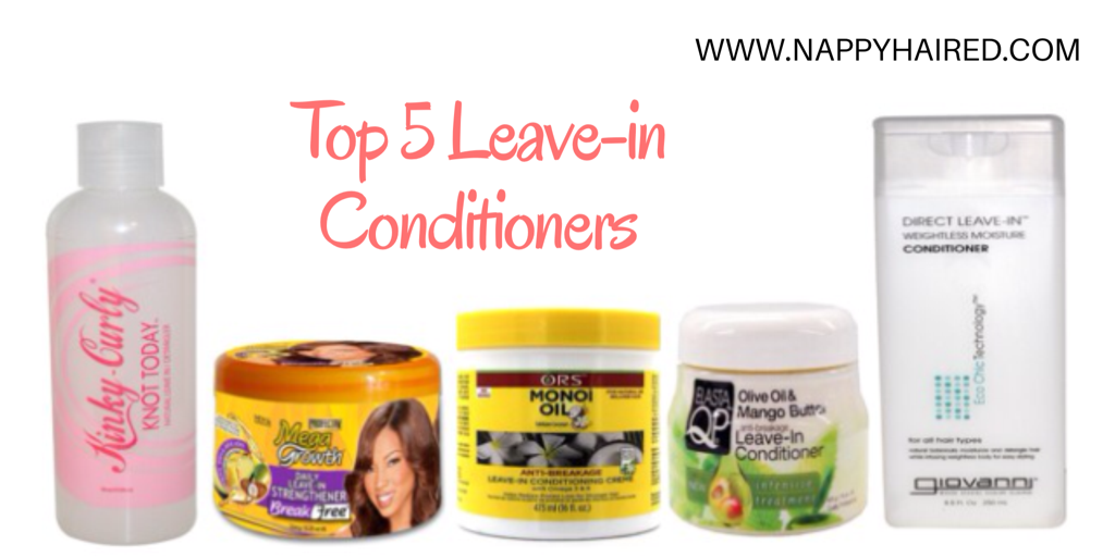 Top 5 Leave-in Conditioners For Natural Hair