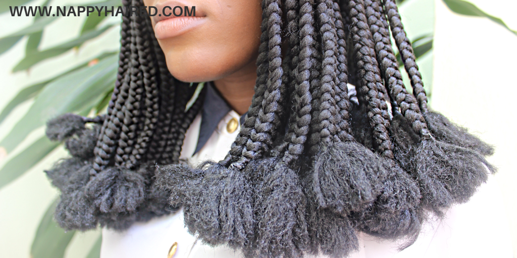 Protective Style Brazilian Wool Braid With Loose Tips