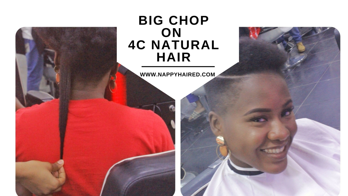 My Big Chop on 4C Natural Hair + Answering Related Questions