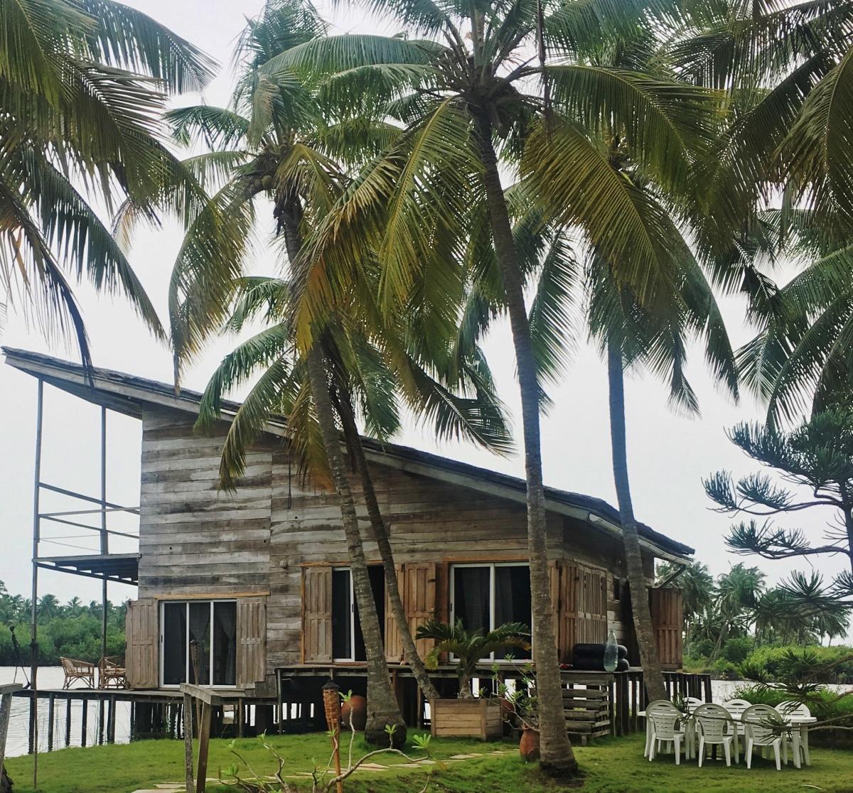 Lakehouse in Ouidah Benin Republic