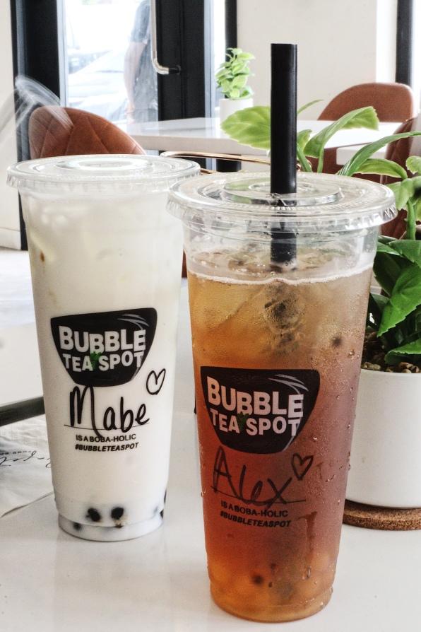Bubble Tea drink in Lagos, Nigeria